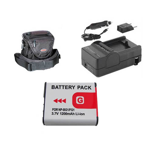 Synergy Digital Sony DSC-HX9V Digital Camera Accessory Kit includes: SDNPBG1 Battery, SDM-175 Charger, ST60S Case By Synergy at Sears.com