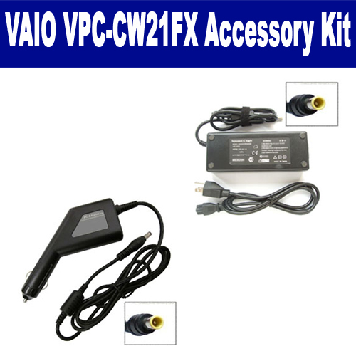 Synergy Digital Sony VAIO VPC-CW21FX Laptop Accessory Kit includes: SDA-3511 AC Adapter, SDA-3561 Car Adapter By Synergy at Sears.com
