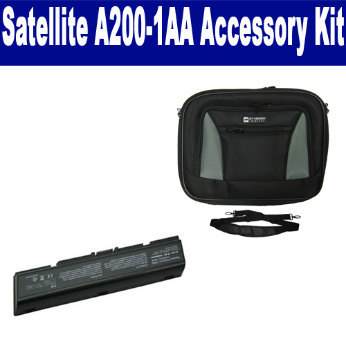 Synergy Digital Toshiba Satellite A200-1AA Laptop Accessory Kit includes: SDC-32 Case, SDB-3351 Battery By Synergy at Sears.com