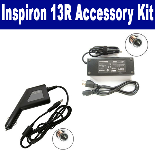 Synergy Digital Dell Inspiron 13R Laptop Accessory Kit includes: SDA-3516 AC Adapter, SDA-3566 Car Adapter By Synergy at Sears.com