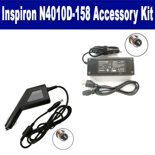 Synergy Digital Dell Inspiron N4010D-158 Laptop Accessory Kit includes: SDA-3517 AC Adapter, SDA-3567 Car Adapter By Synergy at Sears.com