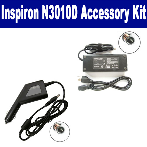 Synergy Digital Dell Inspiron N3010D Laptop Accessory Kit includes: SDA-3516 AC Adapter, SDA-3566 Car Adapter By Synergy at Sears.com