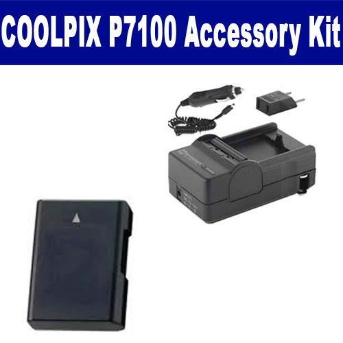 Synergy Digital Nikon COOLPIX P7100 Digital Camera Accessory Kit includes: SDM-1531 Charger, ACD327 Battery By Synergy at Sears.com
