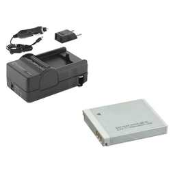 Canon Powershot D10 Digital Camera Accessory Kit includes: SDNB6L Battery, SDM-185 Charger