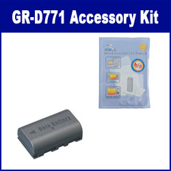 JVC GR-D771 Camcorder Accessory Kit includes: ZELCKSG Care & Cleaning, SDBNVF808 Battery
