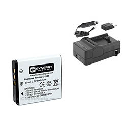 Pentax Optio P70 Digital Camera Accessory Kit includes: SDDLi88 Battery, SDM-1528 Charger