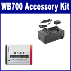 Samsung WB700 Digital Camera Accessory Kit includes: ACD308 Battery, SDM-1501 Charger