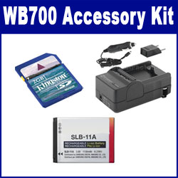 Samsung WB700 Digital Camera Accessory Kit includes: ACD308 Battery, SDM-1501 Charger, KSD2GB Memory Card
