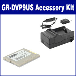 JVC GR-DVP9US Camcorder Accessory Kit includes: SDBNV107 Battery, SDM-112 Charger