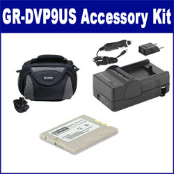 JVC GR-DVP9US Camcorder Accessory Kit includes: SDBNV107 Battery, SDM-112 Charger, SDC-26 Case