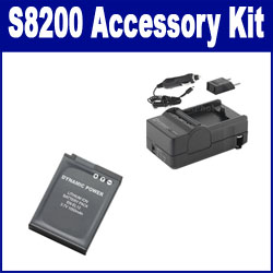 Nikon COOLPIX S8200 Digital Camera Accessory Kit includes: SDENEL12 Battery, SDM-197 Charger