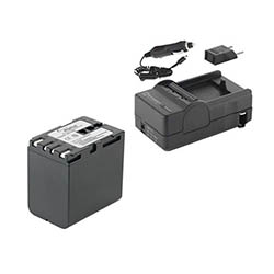 JVC GR-HD1 Camcorder Accessory Kit includes: SDM-111 Charger, SDBNV428 Battery