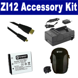 Kodak Playfull Dual Zi12 Camcorder Accessory Kit