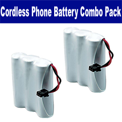 Rayovac RAY5 Cordless Phone Battery Combo-Pack includes: 2 x UL114 Batteries