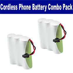 Rayovac RAY5 Cordless Phone Battery Combo-Pack includes: 2 x UL505 Batteries