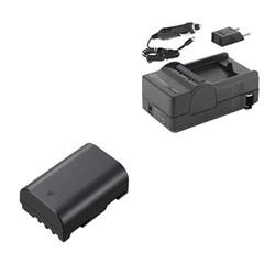Panasonic Lumix DMC-GH3 Digital Camera Accessory Kit includes: SDM-1565 Charger, SDDMWBLF19E Battery