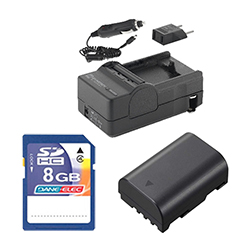 Panasonic Lumix DMC-GH3 Digital Camera Accessory Kit includes: ACD416 Battery, SDM-1565 Charger, KSD48GB Memory Card