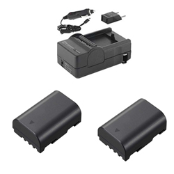 Panasonic Lumix DMC-GH3 Digital Camera Accessory Kit includes: SDM-1565 Charger, 2 x SDDMWBLF19E Batteries