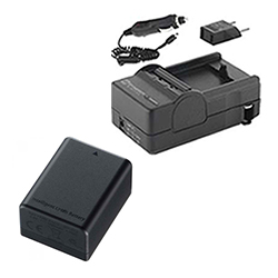 Canon VIXIA HF R300 Camcorder Accessory Kit includes: SDM-1556 Charger, SDBP718 Battery
