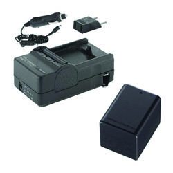 Canon VIXIA HF R42 Camcorder Accessory Kit includes: SDM-1556 Charger, ACD786 Battery