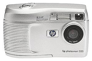 HP PhotoSmart 320 Digital Camera Lighting Vidpro Ultra-Slim LED-330 Professional Video and Photo LED Light Kit with SDC-27 Case