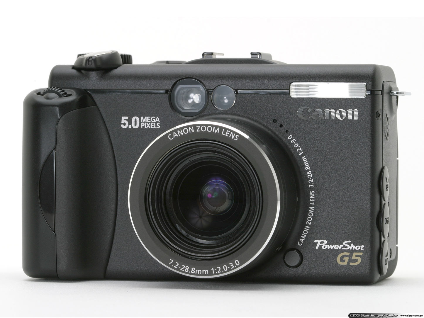 Canon Powershot G5 Digital Camera Memory Card 2GB CompactFlash ...