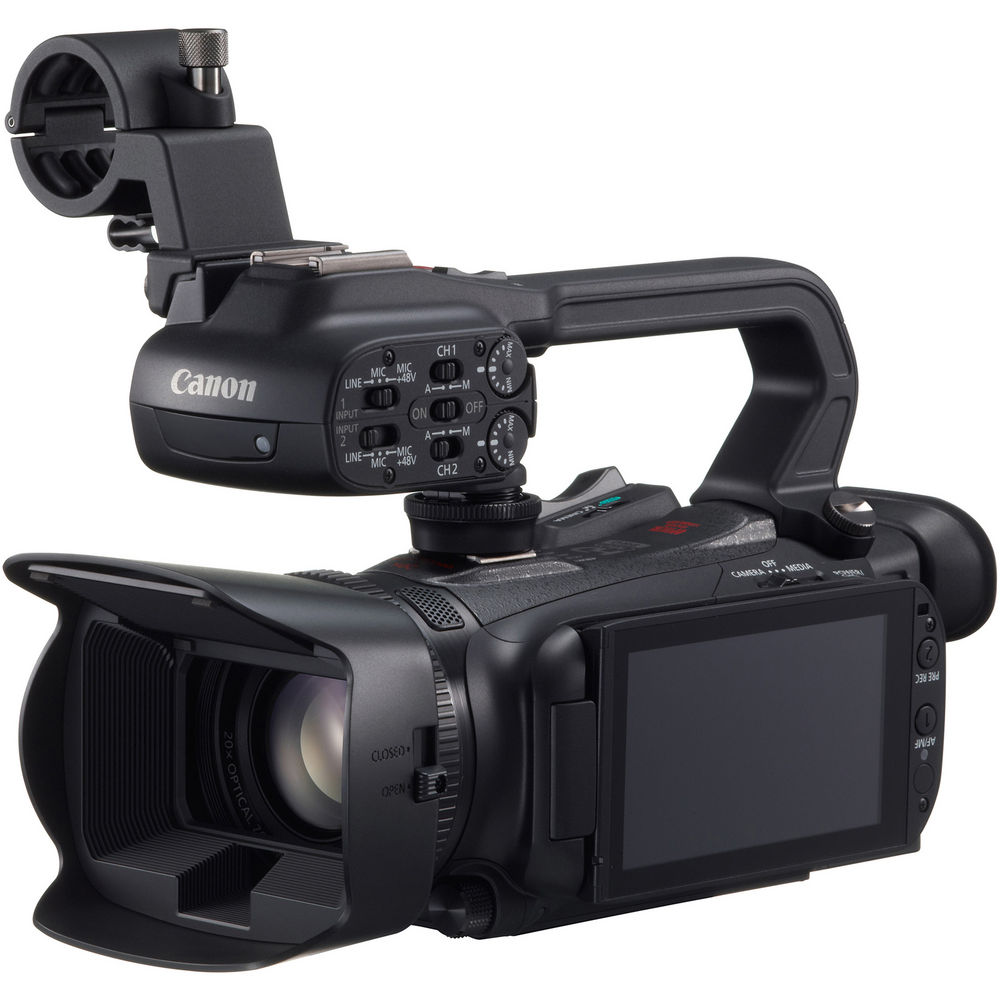 Canon Xa20 Hd Battery And Charger Xa20 Hd Camcorder And