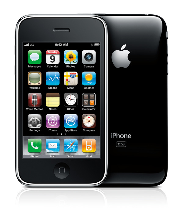 Apple iPhone 3G A1203 Cell Phone
