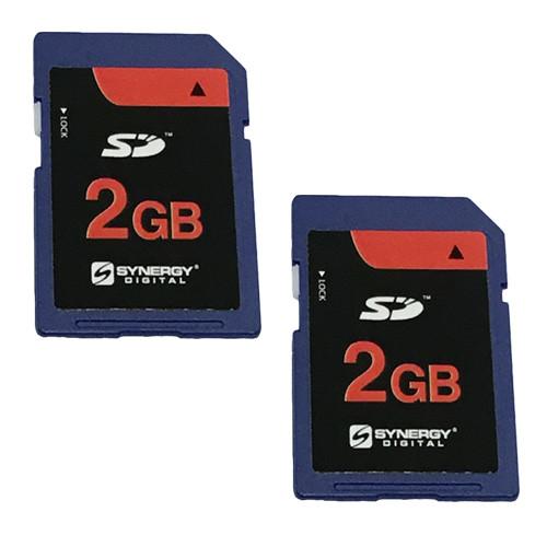 Kingston Canon Powershot SX100 IS Digital Camera Memory Card 2x 2GB Standard Secure Digital (SD) Memory Card (1 Twin Pack)