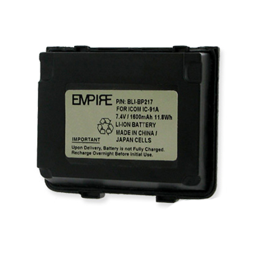Empire Icom IC-T90E 2-Way Radio Battery (Li-Ion 7.4V 1600mAh) Rechargeable Battery - replacement for Icom BP217 Battery at Sears.com