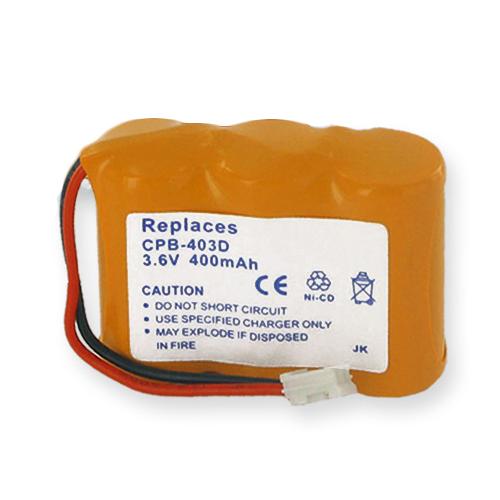 Empire Radio Shack SP502 Cordless Phone Battery 1X3-2/3AA/D - 3.6 Volt, Ni-CD 400 mAh - Cordless Phone Replacement Battery