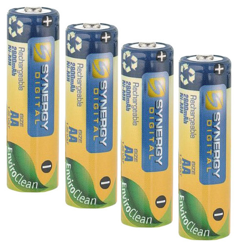 Synergy Digital Vtech 5807 Cordless Phone Battery Replacement for 4 AA NiMH 2800mAh Rechargeable Batteries