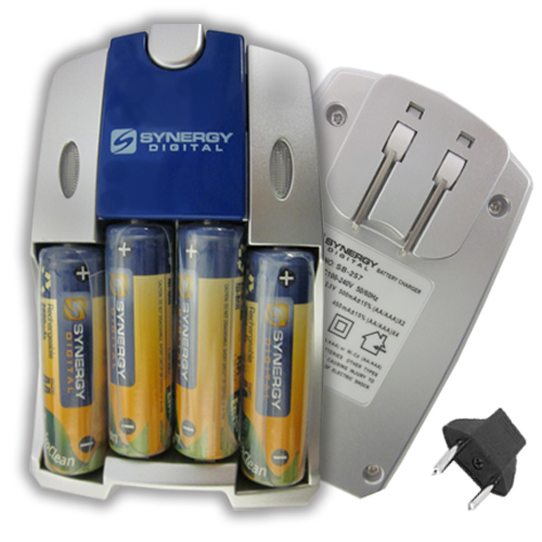 Synergy Digital HP PhotoSmart 215 Digital Camera Battery Charger Replacement of 4 AA NiMH 2800mAh Rechargeable Batteries, with Charger at Sears.com