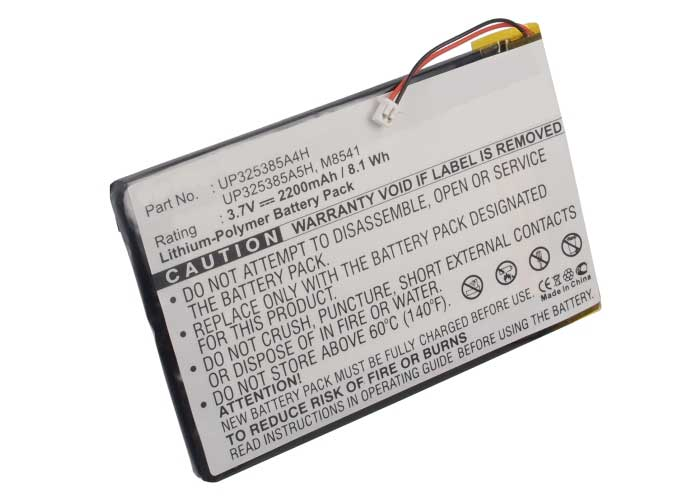 Batteries for ApplePlayer