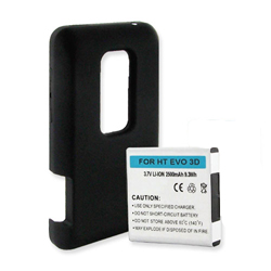 Battery for HTC Evo 3D Cell Phone