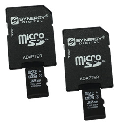 AEE AP11 Quadcopter Drone Memory Card 2 x 64GB microSDXC Class 10 Extreme Memory Card with SD Adapter 2 Pack