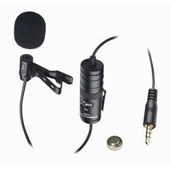 External Microphone for JVC GZ-EX210 Camcorder