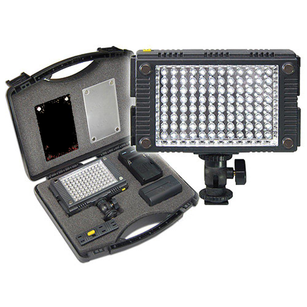 On-Camera Lighting for JVC GZ-EX210 Camcorder