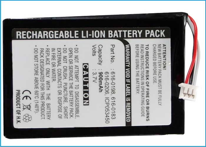 Synergy Digital Battery Compatible With Apple 616-0206 Replacement Battery - (Li-Ion, 3.7V, 900 mAh)