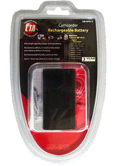 CTA Lithium-Ion Camcorder Batteries