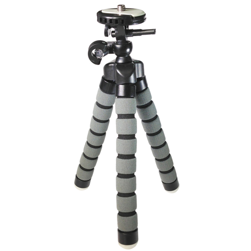 "Gripster Small Flexible Tripod for Compact Digital Cameras and Camcorders - Approx 9"" H"