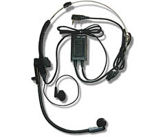 Headset With Ptt And Vox