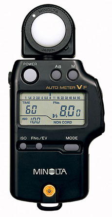 Konica-Minolta Auto Meter VF - Digital Incident and Flash Light Meter