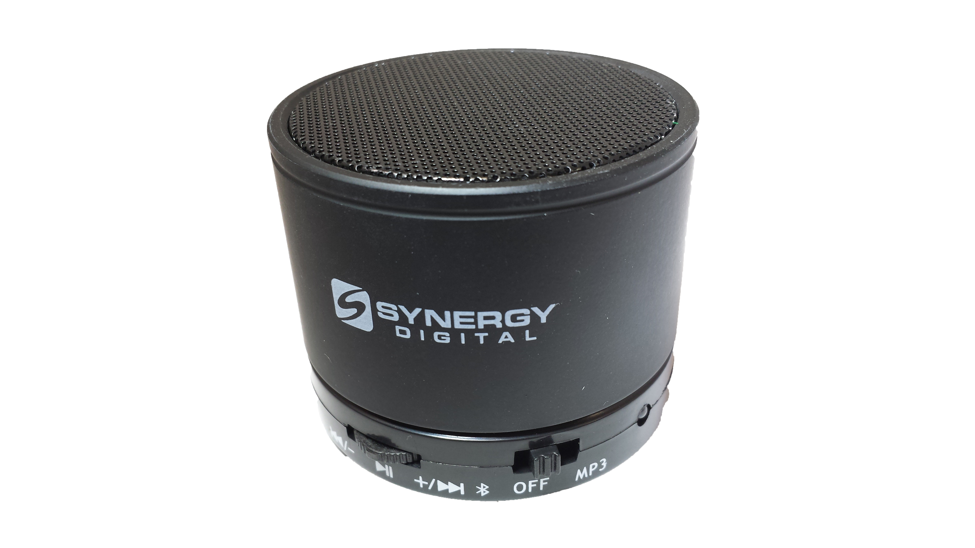 Synergy Digital® SDEBS-007 Portable Wireless Bluetooth Speaker With Built-in Microphone & 4 Hour Rechargeable Internal Battery (Black) - For Cellphones and Other Bluetooth Enabled Devices