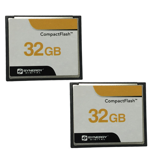 2 x 32GB CompactFlash® Memory Card (2 Pack)