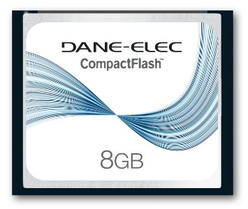 DA-CF-8192-R | 8GB CompactFlash® Memory Card