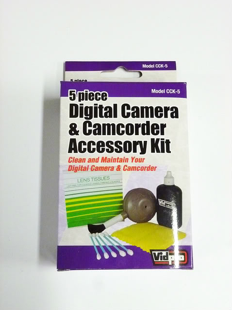 5 Piece Digital Camera/Camcorder Deluxe Cleaning Kit