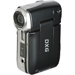 "Black 5.0MP Ultra-Compact Digital Camcorder With 2.4"" LCD"