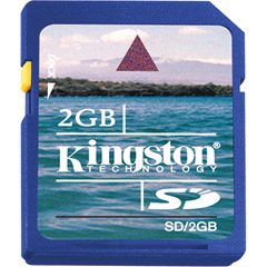 SD/2GB | 2GB SD™ Memory Card