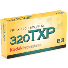 Kodak Tri-x Pan 220 Professional Black& White Print Film (ASA 320) 5 Pack